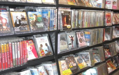 TSUTAYA新品DVD販売